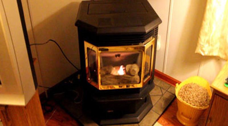 corn pellet stove